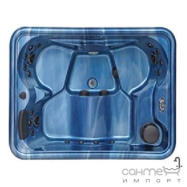 comfort spa Спа-бассейн Comfort Spa Flat SPA Mini-95 облачно голубой, корпус тёмно-серый