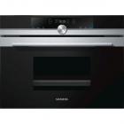 Паровой шкаф Siemens iQ700 CD634GBS1 черный/нержавеющая сталь
