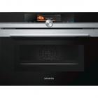 Духовой шкаф-пароварка с микроволновкой Siemens CM678G4S1 черный/нержавеющая сталь