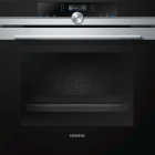 Духовой шкаф Siemens iQ700 HB634GHS1 черный/нержавеющая сталь