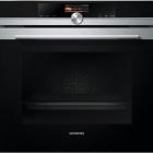 Духовой шкаф Siemens iQ700 HB656GHS1 черный/нержавеющая сталь