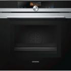 Духовой шкаф с микроволновкой Siemens HM676G0S1 черный/нержавеющая сталь