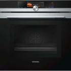 Духовой шкаф-пароварка с микроволновкой Siemens iQ700 HN678G4S1 черный/нержавеющая сталь