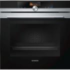 Духовой шкаф Siemens iQ700 HB636GBS1 черное стекло/нержавеющая сталь