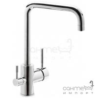 Смеситель для кухни с подключением к фильтрованной воде Genebre Tau-Osmos 65702 18 45 66 Хром