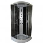Гидробокс полукруглый Eco Style Eco Brand 90LT Black 90x90x215