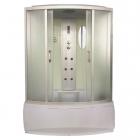 Гидробокс полукруглый Eco Style Eco Brand 150HT White 150x85x215