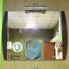 Зеркало с подсветкой для ванной комнаты H2O LH-960 (уценка)