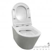 Подвесной унитаз безободковый Volle Nemo сиденье Slim soft-close 13-17-316