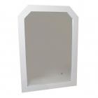Зеркало для ванной комнаты H2O B104 белое (уценка)