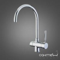 Смеситель для кухни с изливом для фильтрованной воды Teka Pure (OS 200) 182000210 Хром