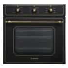 Электрический духовой шкаф Minola OE 6613 BL RUSTIC черный