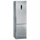 Отдельностоящий двухкамерный холодильник с нижней морозильной камерой Siemens KG39NXI32 нержавеющая сталь
