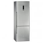 Отдельностоящий двухкамерный холодильник с нижней морозильной камерой Siemens KG49NAI22 нержавеющая сталь