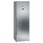 Отдельностоящий двухкамерный холодильник с нижней морозильной камерой Siemens KG49NAI31U нержавеющая сталь