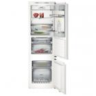 Встраиваемый двухкамерный холодильник с нижней морозильной камерой Siemens KI39FP60