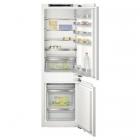 Встраиваемый двухкамерный холодильник с нижней морозильной камерой Siemens KI86SAF30