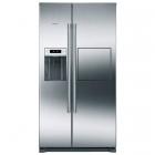 Отдельностояший двухкамерный холодильник Side-by-Side Siemens iQ500 KA90GAI20 нержавеющая сталь
