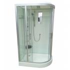 Гидромассажный бокс Veronis BN-5-120 L левосторонний, профиль сатин/стекло фабрик