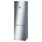 Отдельностоящий двухкамерный холодильник с нижней морозильной камерой Bosch Serie 6 KGN39AI35 сталь