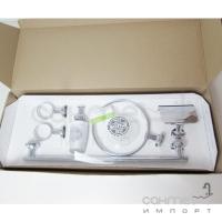 Набор для аксессуаров для ванной комнаты Sonia E Plus 128600 хром, стекло