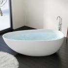 Отдельностоящая ванна из искусственного камня Badeloft BW-01-L