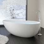 Отдельностоящая ванна из искусственного камня Badeloft BW-01-XL