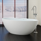 Отдельностоящая ванна из искусственного камня Badeloft BW-04-L