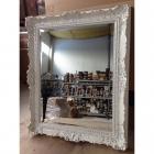 Зеркало для ванной комнаты Compab 4514 Bianco