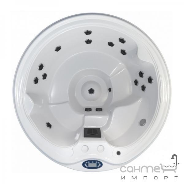 comfort spa Спа-бассейн Comfort Spa Budget Spa (H-SPA_F15) белый, корпус венге, крышка чёрная