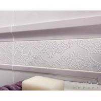 Плитка настенная фриз 4,5x33,3 Ascot Ceramiche England Listello Bianco