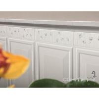 Плитка настенная фриз 8,1x33 Ascot Ceramiche England Listello Beige Dec