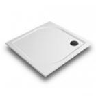Квадратный душевой поддон из литого мрамора Gronix Deniz D1P-9090-3 цветной (RAL)