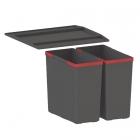 Сортер Franke Easysort 450-0-2 черный пластик
