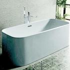 Ванна с сифоном + напольный смеситель + скрытая часть смесителя Noken Pack Lounge Square 100200331