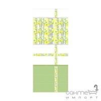Плитка Kerama Marazzi B417071T Бордюр Городские цветы