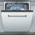 Встраиваемая посудомоечная машина Rosieres RLF 912E-47 черная панель управления