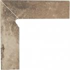Плитка цоколь двухэлементный левый Paradyz Scandiano Ochra Cokol dwuelementowy lewy 2 по 30x8,1
