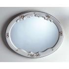 Зеркало для ванной комнаты Herbeau Charly 1207 белое с рисунком 11 Руан Марли