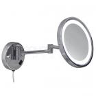 Косметическое зеркало настенное Juergen Zoom 04 с LED подсветкой