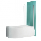 Шторка для ванны Vagnerplast Orien 80 VPZA800ORN3S0X-H0 профиль хром, стекло прозрачное