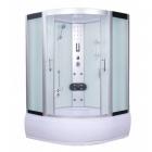 Гидромассажный бокс Atlantis AKL 1318M(XL) профиль сатин, стекло матовое