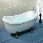 Акриловая ванна Appollo TS-1705 на львиных лапах бронза