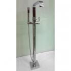 Напольный смеситель для ванны с душевой лейкой Atlantis DF-02036 хром
