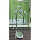 Напольный смеситель для ванны с душевой лейкой Atlantis Veronis Chrome 02019 хром