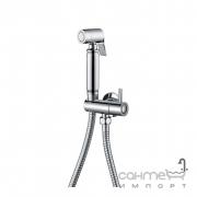 Гигиенический душ с запорным вентилем и держателем Imprese B704122 хром