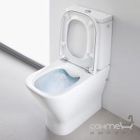 Унитаз-компакт Roca Gap A34D738000 Rimless сидение с крышкой Soft-Close