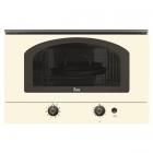 Встраиваемая микроволновая печь Teka MWR 22 BI 40586302 Rustica ваниль, ручки латунь