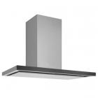 Вытяжка настенная Smalvic CAPPA FLAT 90 INOX/NERO 3327 1019090004 нерж. сталь/черное стекло