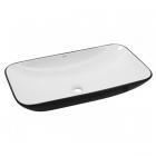 Раковина на столешницу Newarc Countertop 70 5019BW белая/черная